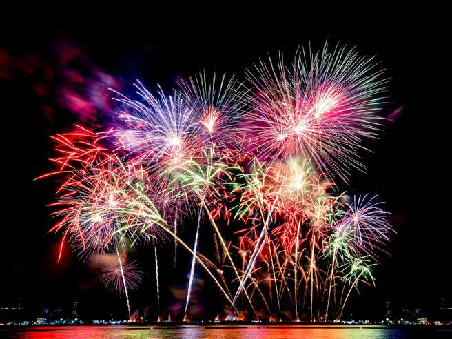 Dai fuochi d'artificio si liberano metalli tossici