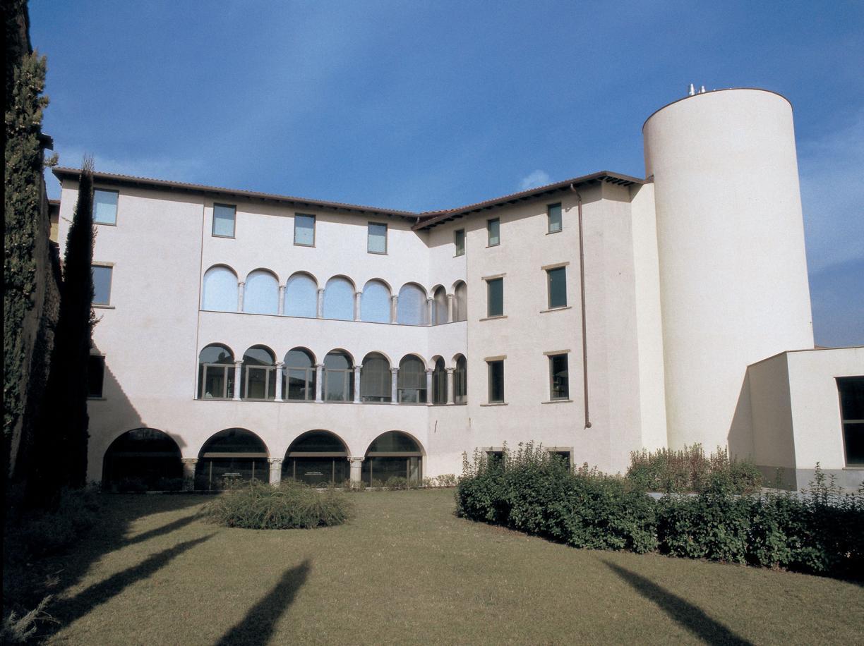 Il Gamec, museo d'Arte Moderna e Contemporanea di Bergamo (Ansa)