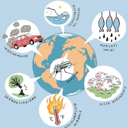 C'è una correlazione fra smog e virus? E con il riscaldamento globale? Le risposte in un libro|I rischi