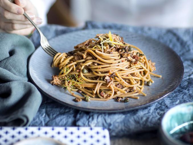 Spaghetti al tonno