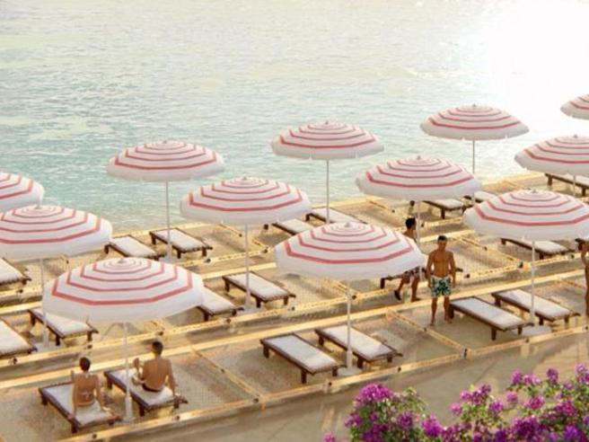 Estate e coronavirus, in spiaggia  distanziamento ombrelloni  di almeno 10 mq. Ma costano  il 12% in più