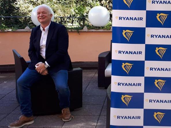 Eddie Wilson, ad di Ryanair (foto Ansa)