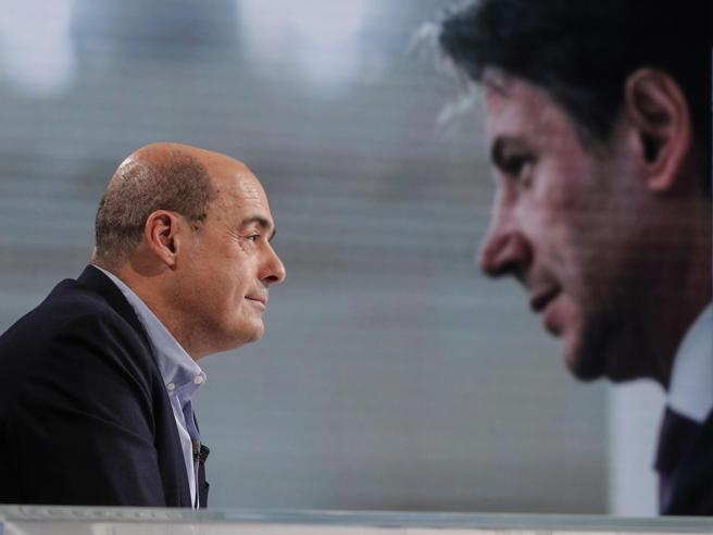 Conte: «Piena convergenza con Zingaretti, bisogna correre »