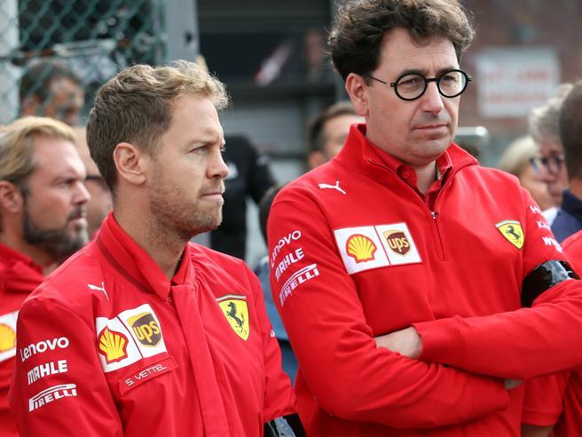 F1, Gp d'Austria. Binotto su Vettel: «Era la prima scelta, poi con Covid e nuove regole abbiamo cambiato»