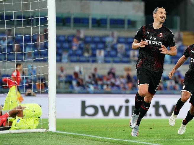 Lazio-Milan 0-3: Calhanoglu, Ibrahimovic e Rebic, il Diavolo allontana Inzaghi dallo scudetto