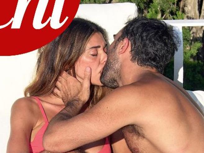 Belen Rodriguez baciaGianmaria Antinolfi a Capri, Stefano De Martino con un'altra «Rodriguez»