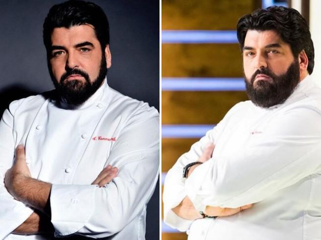 Lo chef Antonino Cannavacciuolo a dieta: «Ho perso 29 chili e scenderò ancora»