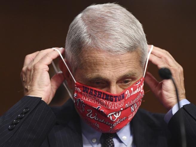 Fauci: «Il virus resta forte, negli Usa è fuori controllo. T