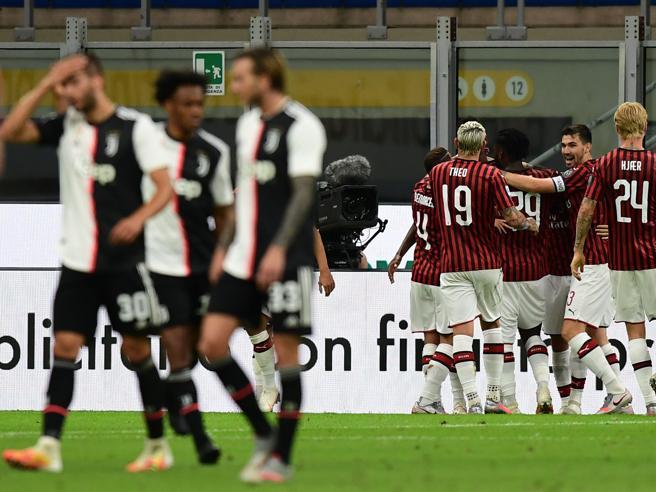 Milan-Juventus 4-2, bianconeri mai così confusi, una partita che diventerà storica