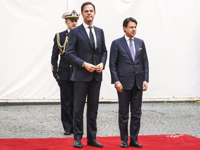 Conte al «falco» Rutte: «Se l'Italia è più forte, anche l'Europa lo è»