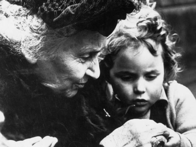 Maria Montessori, a scuola di libertà Il libro in edicola con il «Corriere»