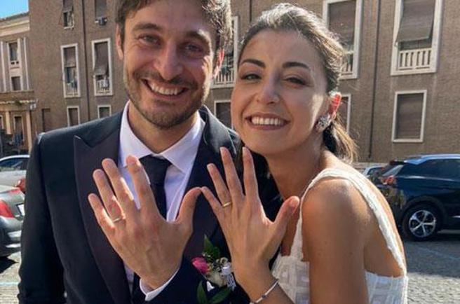 Lino Guanciale, matrimonio con Antonella Liuzzi. Nozze a sorpresa e fra pochi intimi a Roma