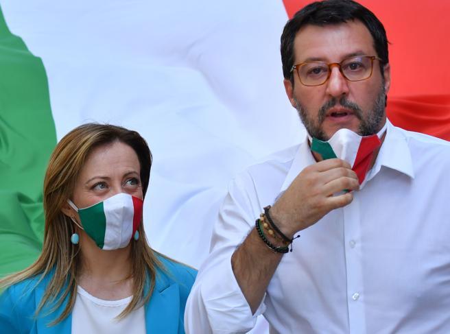 Recovery Fund, Meloni: «Conte uscito in piedi». Salvini attacca: «Resa incondizionata»