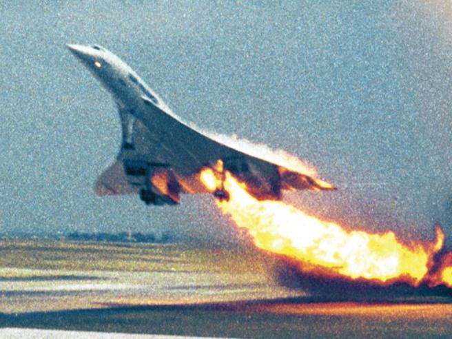 Fotogramma originale dell'incidente del Concorde. Credits: corriere.it