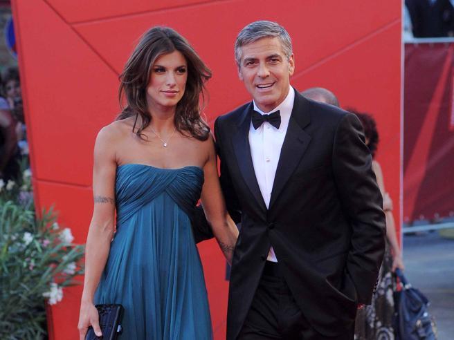 La favola di Elisabetta Canalis e George Clooney: ma la cenerentola non rise mai