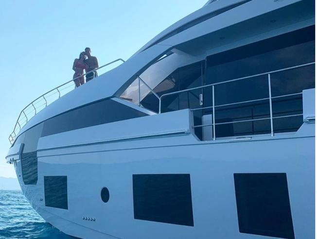 Cristiano Ronaldo: i segreti del nuovo yacht costruito a Viareggio