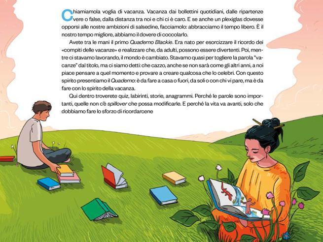 L'idea che viene dalla Spagna: mai più senza quaderno dei compiti, da adulti