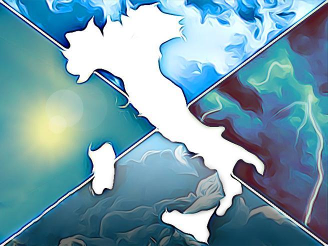 Meteo, le previsioni di venerdì 14 agosto: temporali in montagna, 40 gradi in Puglia e Sicilia