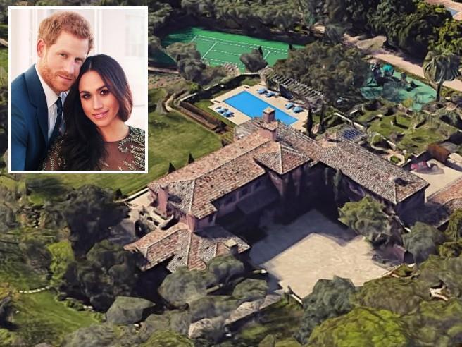 Meghan e Harry, ecco la nuova villa a Santa Barbara: due anni di matrimonio e cinque case, tutti i traslochi dei Sussex