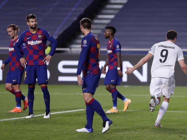 Barcellona Bayern Monaco 2 8, catalani umiliati e tedeschi in semifinale. Messi ora può far di tutto