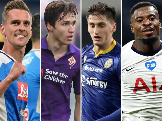 Dybala agita l'estate della Juventus, Tonali e Kanté obiettivi Inter, Milan su Aurier