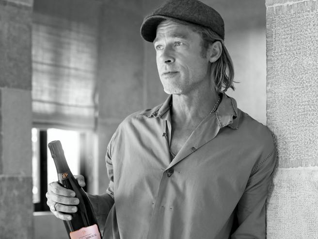 Brad Pitt, il vignaiolo: punto tutto sul rosé, vi spiego il mio champagne