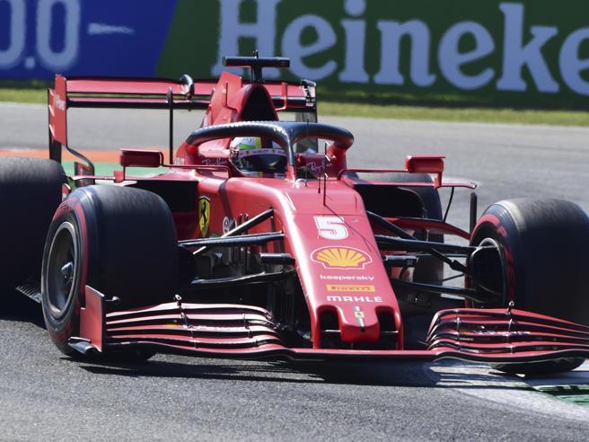 Gp Monza: la Ferrari di Vettel fuori nel Q1. Il tedesco partirà 17esimo Leclerc scatta tredicesimo