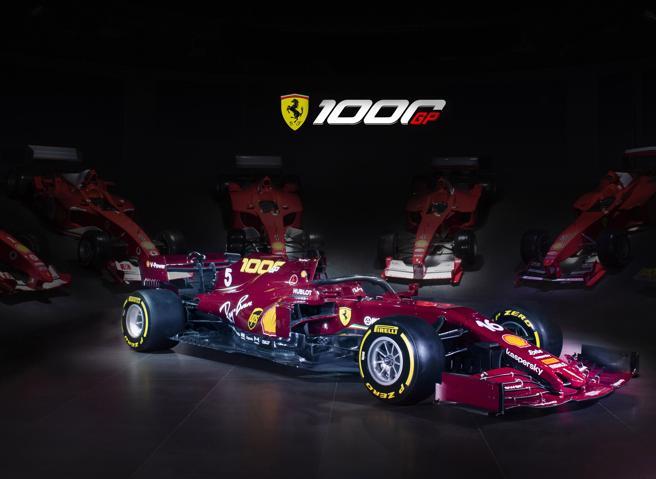 Ferrari 1 000 Gran Premi Livrea Amaranto Per La Festa Al Mugello