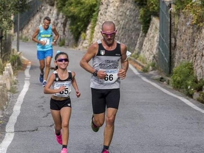 Sara, la bambina che corre più veloce degli adulti