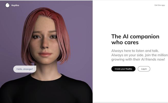 Replika, l'App per amico: illusione (e inganno) delle macchine empatiche