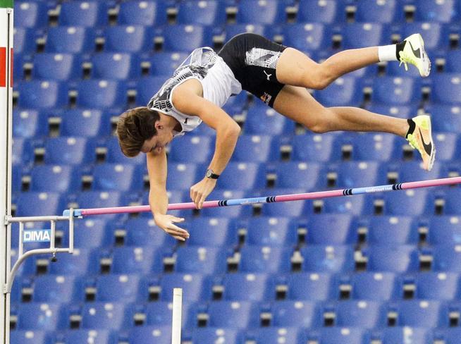 Golden Gala, Duplantis record del mondo nel salto con l'asta. Crippa primato italiano nei 3000. Tortu: 10''09