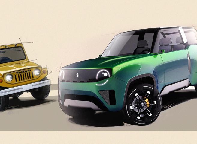 Laurea in design «firmata» Suzuki Ecco le tre auto del futuro elettrico