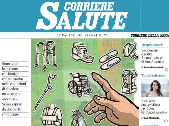 Sul Corriere Salute: come ottenere gli ausili sanitari cui si ha diritto
