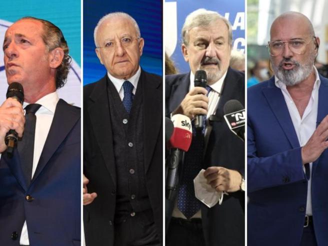 Regionali, I nuovi «cacicchi»: l'onda dei governatori