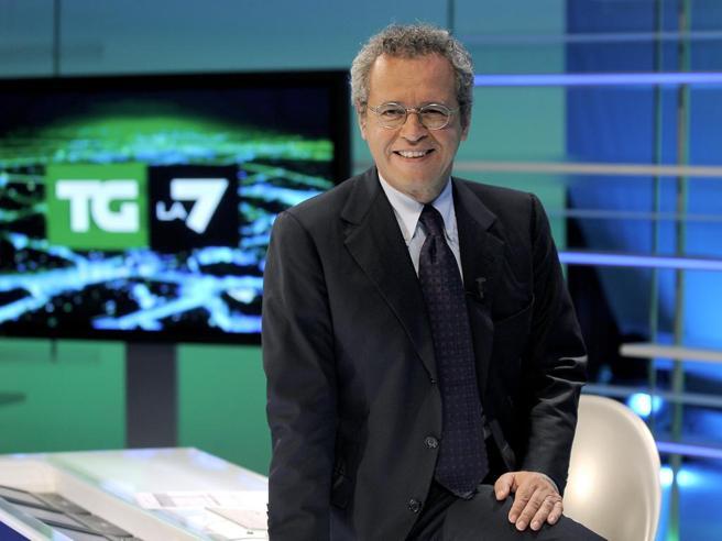 La7 vola  negli ascolti con l'informazione: 7,7% di share per la maratona di Enrico Mentana