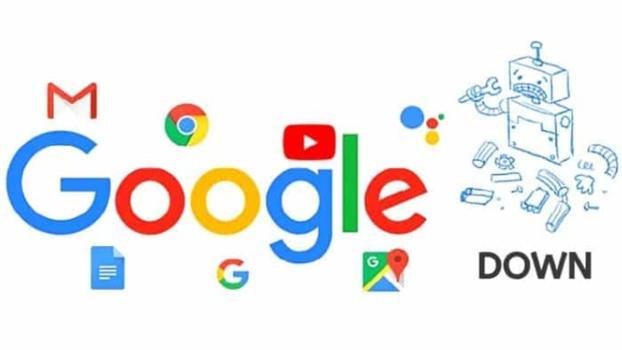 Google down, inaccessibili Gmail, YouTube e Calendario e Drive