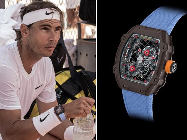 Roland Garros: Rafa Nadal e l'orologio da un milione di dollari (che indossa anche mentre gioca)