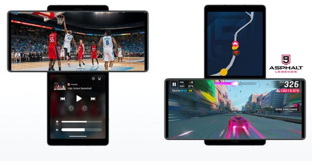 LG Wing, lo smartphone con il doppio schermo rotante che sfida i pieghevoli