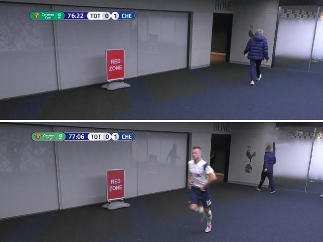 Dier (Tottenham) va in pausa toilette: Mourinho furioso corre a riprenderlo e gli Spurs battono il Chelsea
