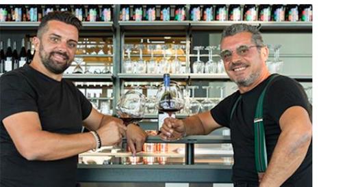 Davide, Massimo e il vino romagnolo che fa leva sull'allegria (e sull'istinto)