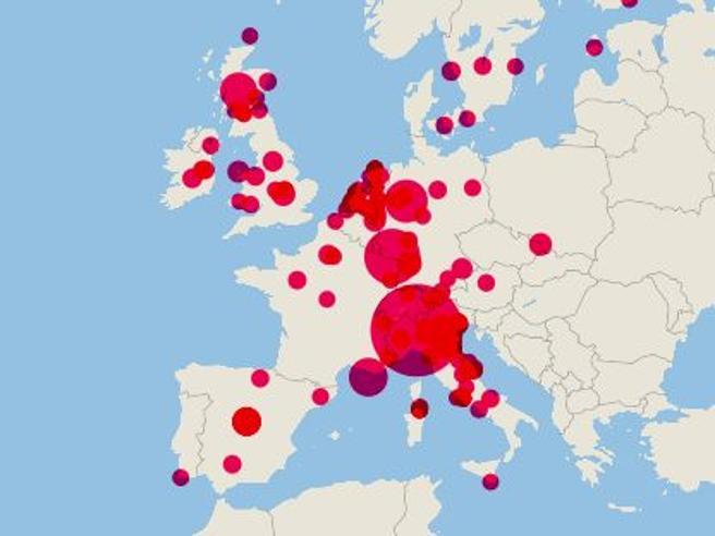 Ecco tutti gli eventi superdiffusori: così il coronavirus ha viaggiato nel mondo