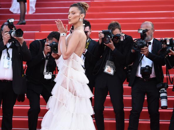 Bella Hadid al Festival di Cannes - 2019 (Getty Images)