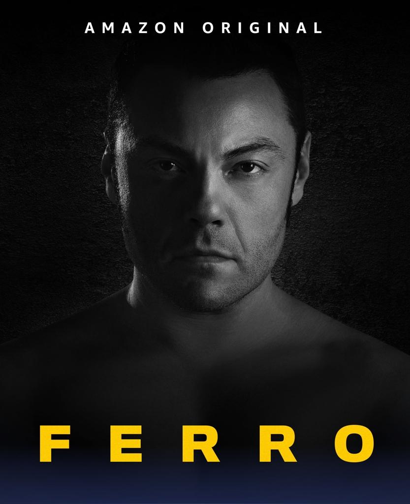 La locandina del film-documentario «Ferro», una produzione originale Amazon disponibile su Prime Video dal 6 novembre