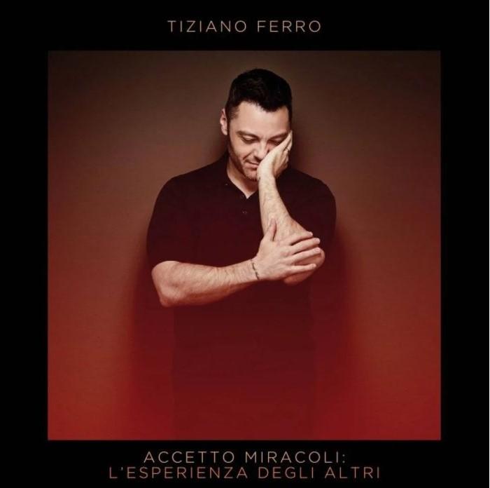 Un particolare della cover dell'ultimo disco di Tiziano Ferro, in uscita il 6 novembre