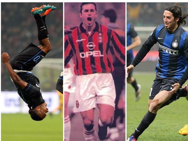 Inter-Milan, eroi per caso nei derby. Da Comandini a Schelotto, i giocatori che hanno cambiato la stracittadina (per poi perdersi)