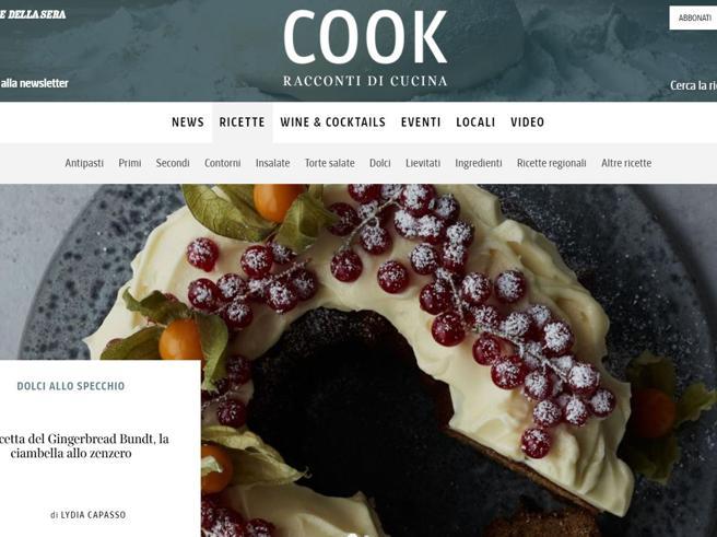 Il nuovo sito di Cook: ricette e idee per gustarsi la vita