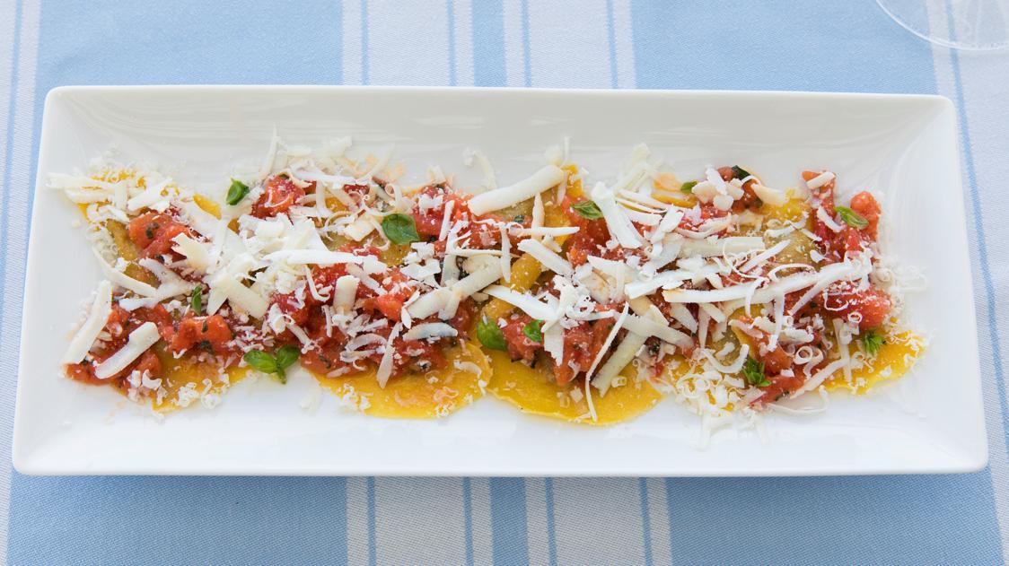 La ricetta dei ravioli di melanzane dello chef Fulvio Pierangelini