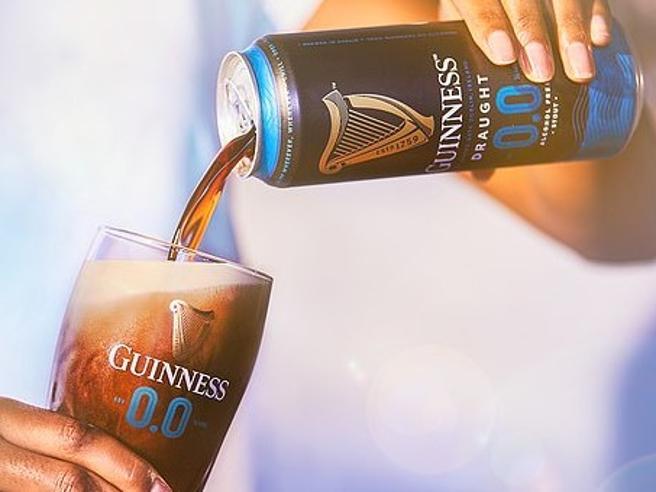 Arriva la Guinness 0.0, stesso sapore ma zero alcol