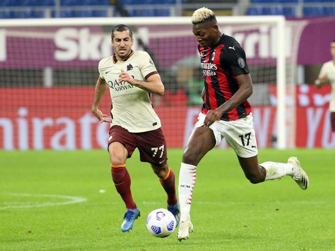 Milan-Roma 3-3 , pagelle: Tatarusanu frana, Leao quasi ...
