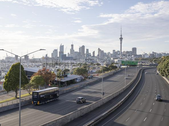 Lo skyline di Auckland (foto Getty images)